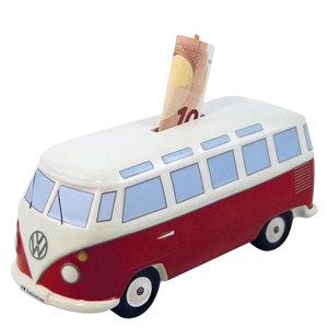 Volkswagen T1 bus klassiek rode spaarpot