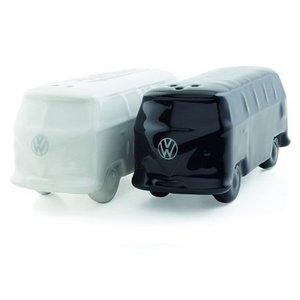 Volkswagen T1 bus 3D peper en zoutstel wit/zwart