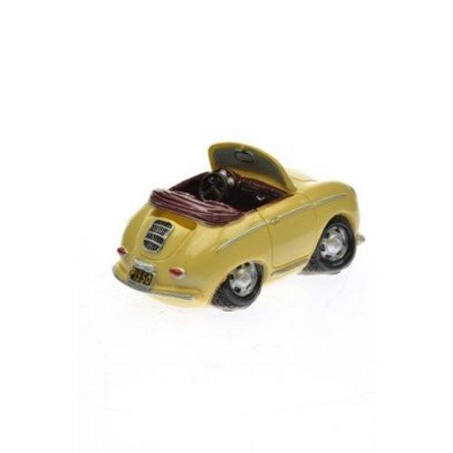 Spaarpot Porsche 356 creme