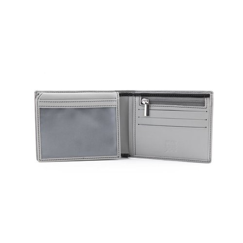Fiat 500 grijze portemonnee