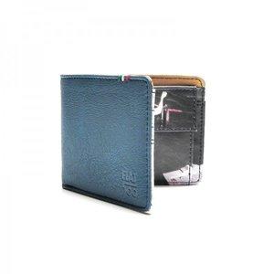 Fiat 500 blauwe portemonnee