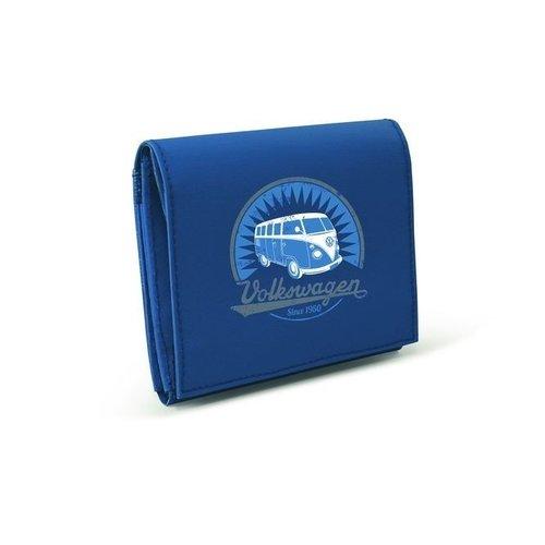 Volkswagen blauwe portemonnee