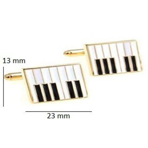 Piano manchetknoop