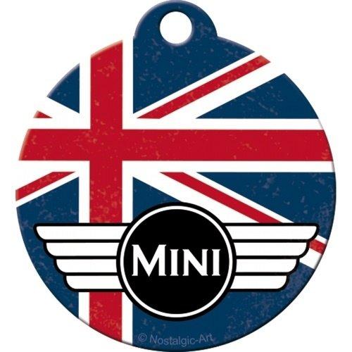 Sleutelhanger Mini Round Union Jack