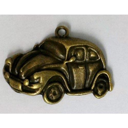 Antiek bronzen VW Kever hanger