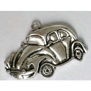 Antiek zilveren VW Kever hanger