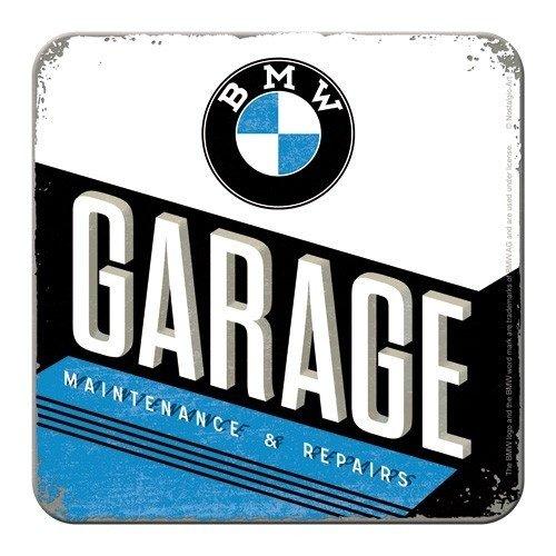 BMW Garage Onderzetters set