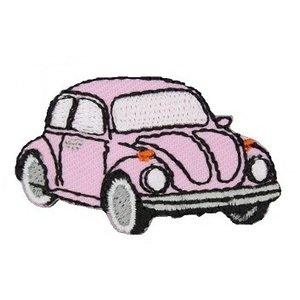 Applicatie VW Kever pink
