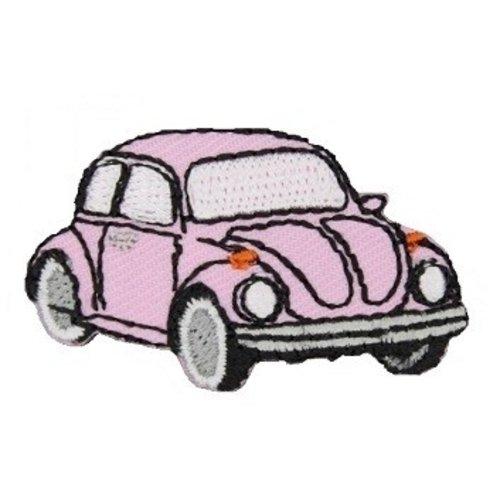 Applicatie VW Kever pink
