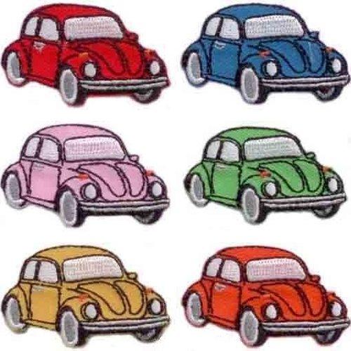 Applicatie VW Kever rood