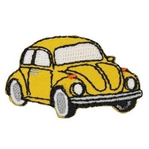 Applicatie VW Kever geel