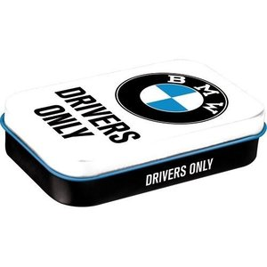 BMW Drivers Only White mintbox