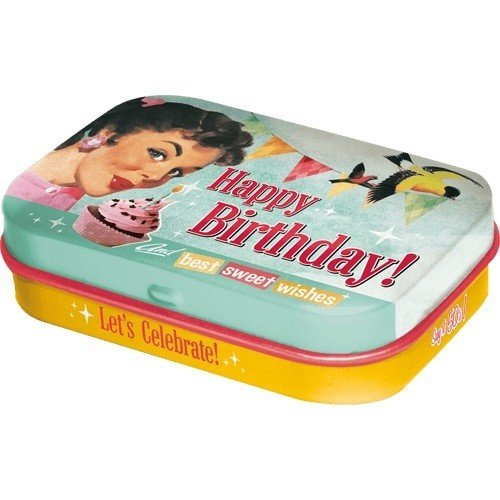 Happy Birthday Birds mintbox