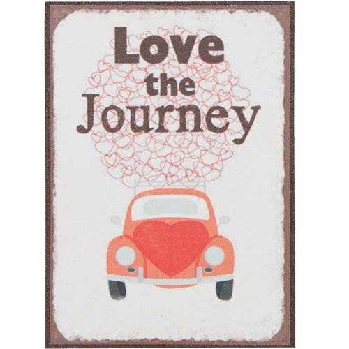 VW Kever Love the Journey Magneet