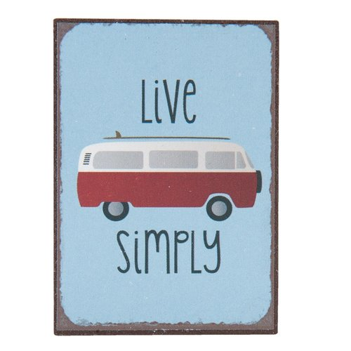Magneet Live Simply bus