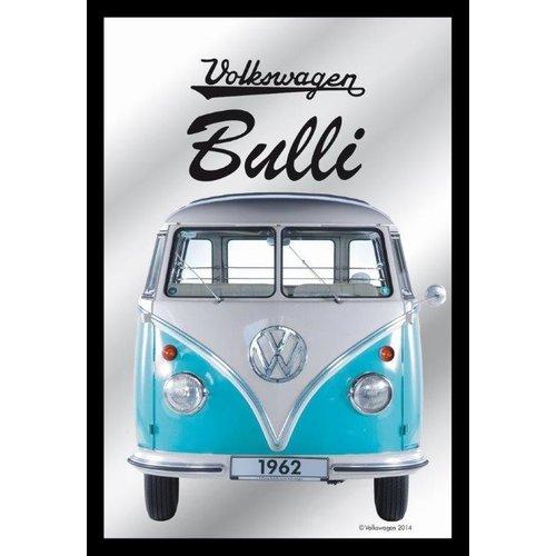 VW Spiegel blauwe Bulli T1