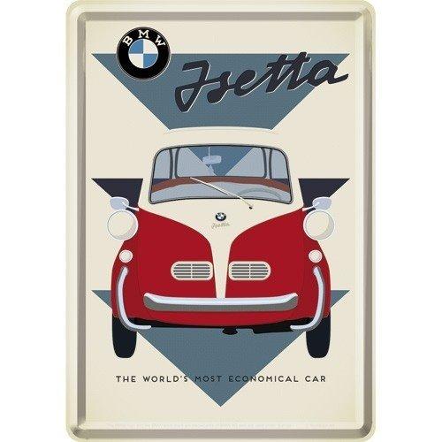 BMW Isetta metal card