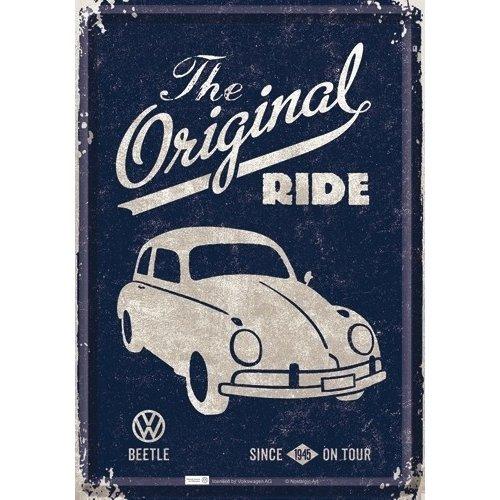 VW Beetle the Original Ride postcard