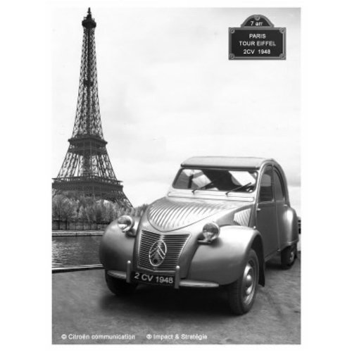 Citroen 2CV Paris 1948