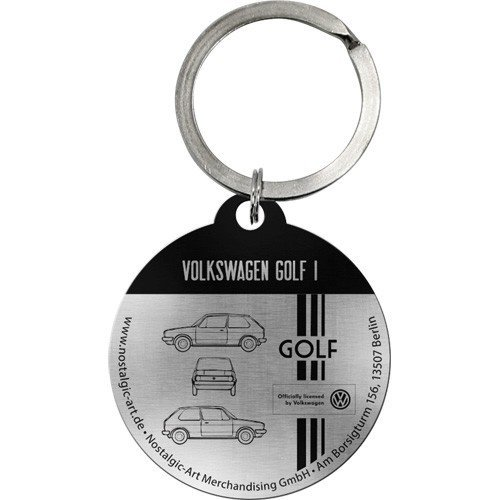 Sleutelhanger VW Golf The Original Ride Ø 4 cm