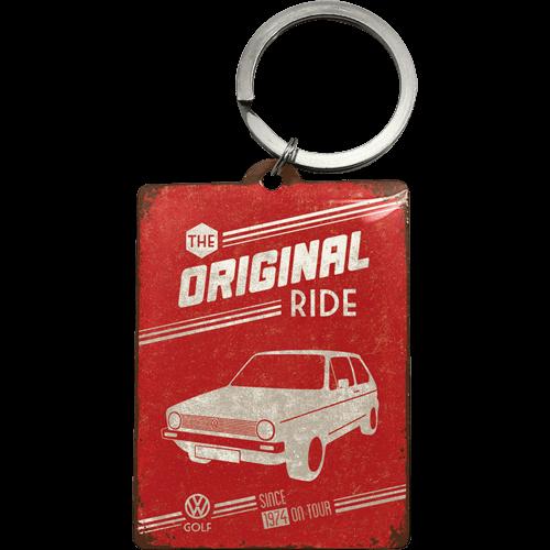 Sleutelhanger VW Golf The Original Ride 6x4,5 cm