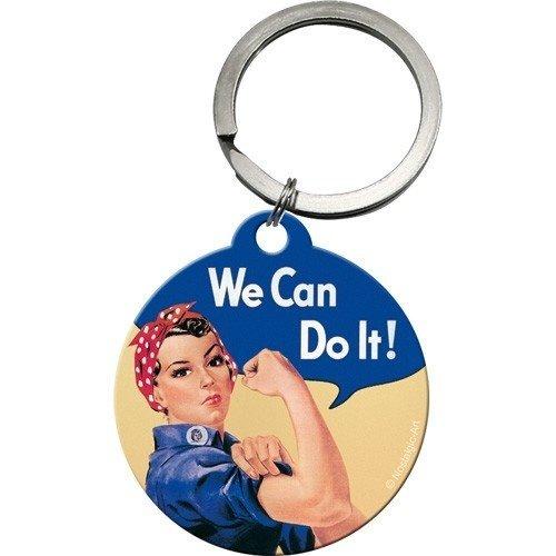Schlüsselanhänger We can do it Ø 4 cm