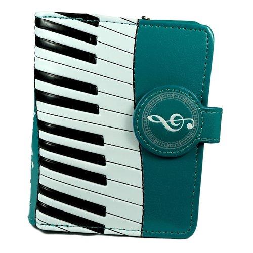 Compacte groene dames portemonnee Piano Symphony