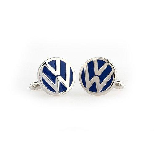 Volkswagen car blauwe logo manchetknopen.