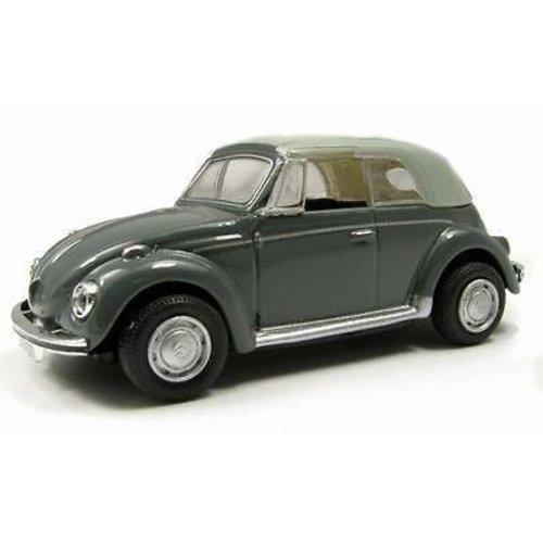 VW Kever Cabrio Dicht Grijs 1:72