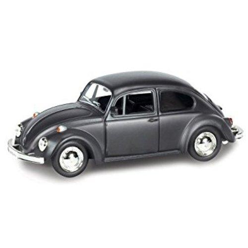 Volkswagen Beetle Classic mat zwart 1:43