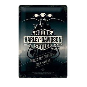 Harley-Davidson metalen wandplaat