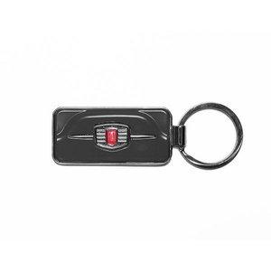 Fiat 500F sleutelhanger zwart