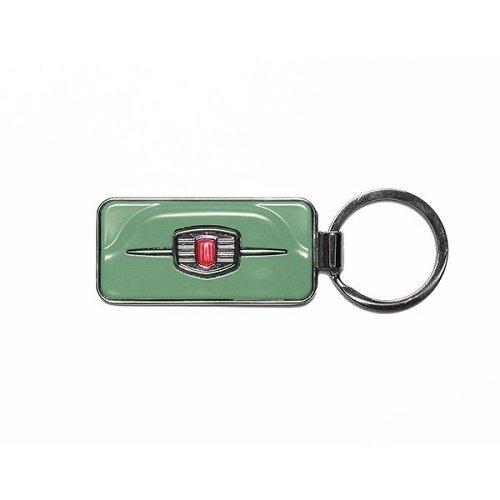 Fiat 500F sleutelhanger groen