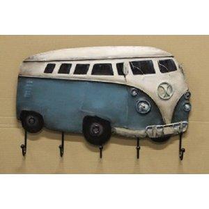 Volkswagen T1 blauwe 3D kapstok
