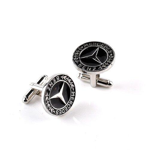 Mercedes-Benz ronde manchetknopen