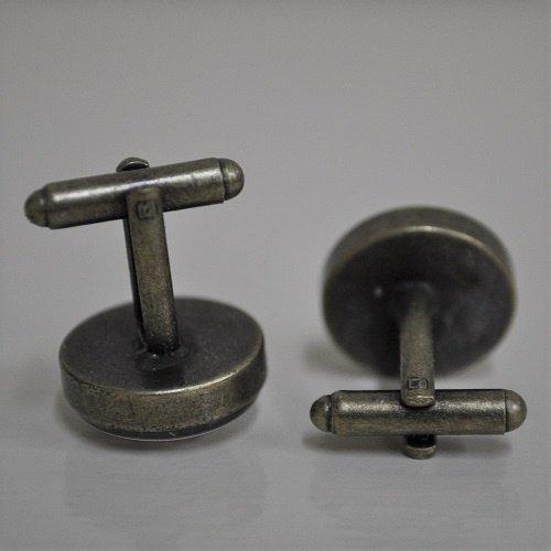 Oldtimer bronskleurige manchetknopen
