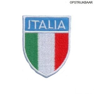 Applicatie Italia Vlag + streep