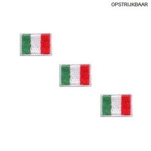 Applicatie Italiaanse Vlag 3 x klein