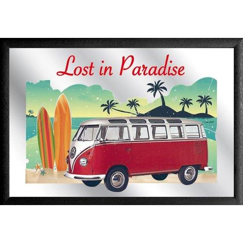 VW Bulli T1 Spiegel Lost in Paradise Surfboard links