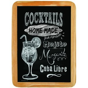 Wood sign COCKTAILS HOME MADE