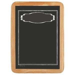 Wood sign BLANK FRAME