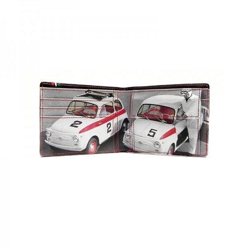 Fiat 500 bruine portemonnee
