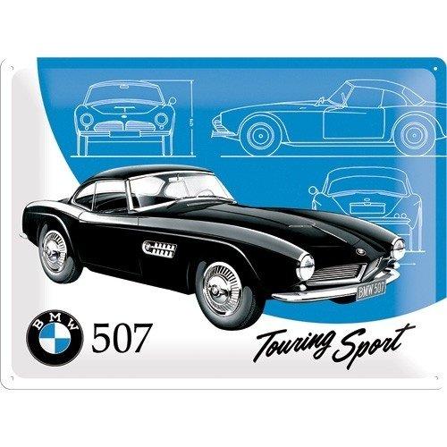 BMW Classic 507 Touring Sport metalen plaat 30x40 cm