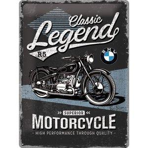 BMW Classic Legend R5 metalen plaat 30x40 cm