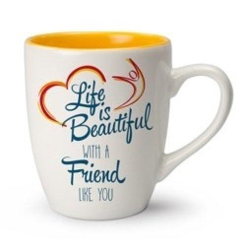 Life is Beautiful mok With a friend like you