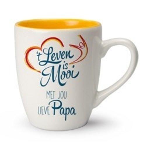 't Leven is Mooi mok Met jou lieve Papa