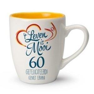 't Leven is Mooi mok 60 Gefeliciteerd! Geniet ervan