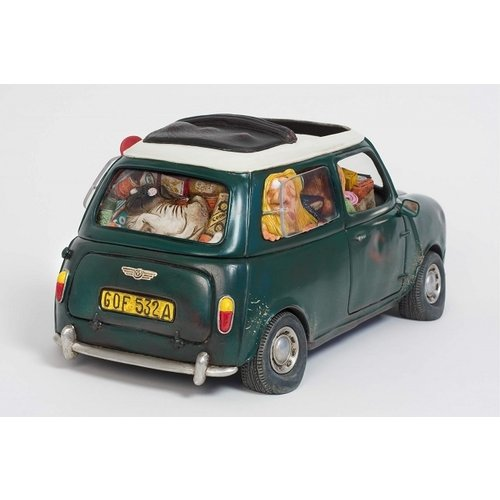 Forchino beeldje Mini Cooper: My First Love Small