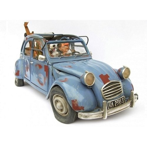 Forchino beeldje Citroën 2CV: The Bohemian