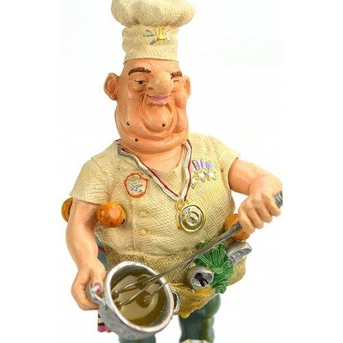 Profisti beeldje Chef…and some eggs, my secret ingredient